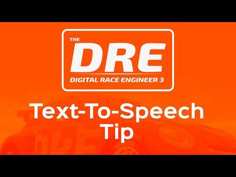 The Digital Race Engineer | Text To Speech Tip