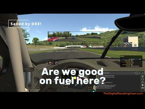 Don't Forget Fuel In iRacing   Grid Fuel Warning