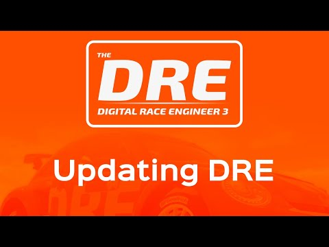 The Digital Race Engineer | How to update DRE